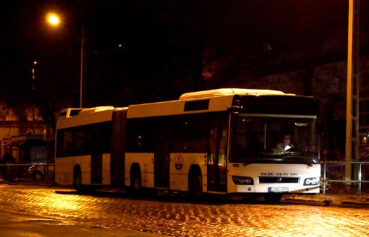 Éjszakai buszjárat Debrecenben