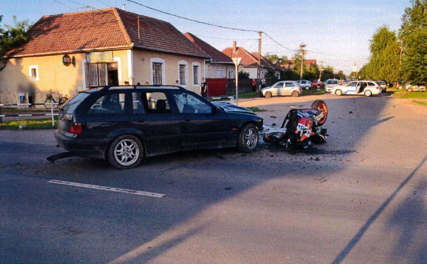 Halálos motorosbaleset, Balmazújváros