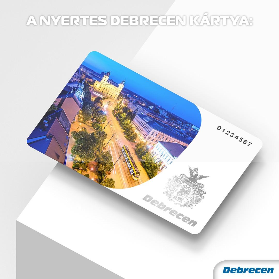 Debrecen kártya