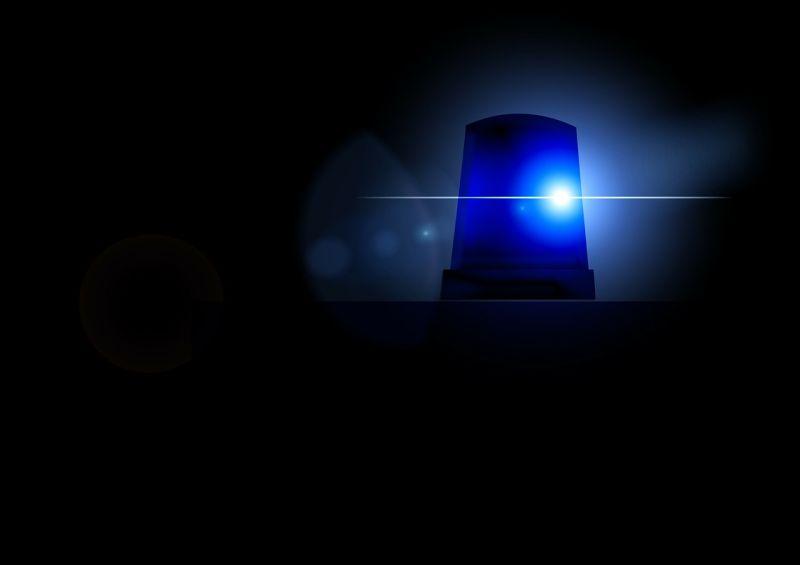 sziréna, baleset, rendőrség