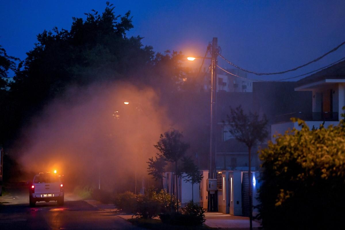 Szúnyogirtás Debrecenben