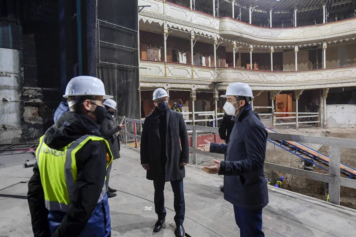 Felújítják a debreceni Csokonai Nemzeti Színházat