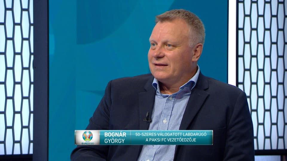 Bognár György az M4 Sport műsorában
